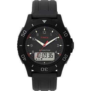 タイメックス 腕時計 メンズ 【送料無料】Timex Men's TW4B18200 Expedition Katmai Combo 40mm Black/Gray Resin Strap Watchタイメックス 腕時計 メンズ