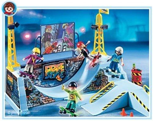 知育玩具・学習玩具, 知育パズル  Playmobil Skate Park With Half Pipe