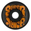ウィール タイヤ スケボー スケートボード 海外モデル 【送料無料】OJ Super Juice 78a Skateboard Wheels,Black,60mmウィール タイヤ スケボー スケートボード 海外モデル