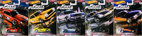 乗り物のおもちゃ, その他  Hot Wheels 5 Car Nissan Bundle Includes Nissan Silvia Mazda RX 3 Nissan Skyline Nissan Fairlady Z