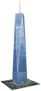 ジグソーパズル 海外製 アメリカ 【送料無料】Ravensburger One World Trade Center NY 216 Piece 3D Jigsaw Puzzle for Kids and Adults - Easy Click Technology Means Pieces Fit Together Perfectlyジグソーパズル 海外製 アメリカ