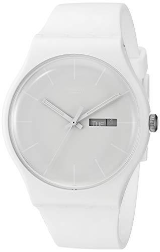 【当店1年保証】スウォッチSwatch Unisex SUOW701 Quartz Plastic White Dial Watch