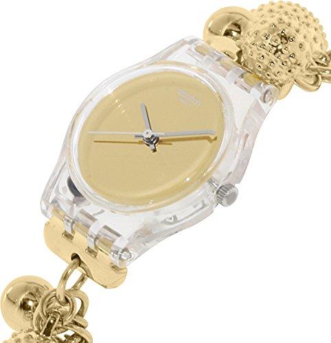 【当店1年保証】スウォッチSwatch Women's Originals LK349G Gold Stainless-Steel Quartz Watch
