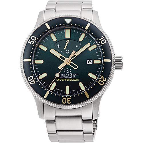 腕時計, メンズ腕時計  Orient Star Sports Divers 200m Sunray Green Dial Sapphire Glass Watch RE-AU0307E