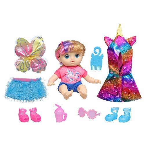 ままごと・ごっこ遊びトイ, その他  Baby Alive Littles, Fantasy Styles Squad Doll, Little Kiera, Fairytale Accessories, Wavy Blonde Hair Toy for Kids Ages 3 Years and Up (Amazo