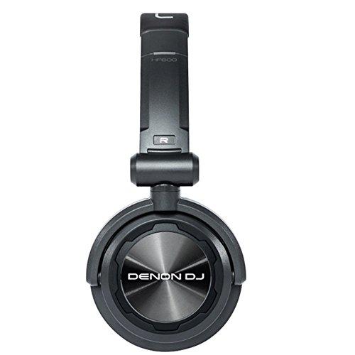 オーディオ, ヘッドホン・イヤホン DJ HP600 Denon DJ HP600 Value On-Ear DJ Headphones with Swiveling Ear Cups Included Carry Bag (40mm Driver 1300mW Input)DJ HP600