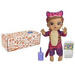 ベビーアライブ 赤ちゃん おままごと ベビー人形 【送料無料】Baby Alive Rainbow Wildcats Doll, Tiger, Accessories, Drinks, Wets, Tiger Toy for Kids Ages 3 Years and Up, Brown Hair (Amazon Exclusive)ベビーアライブ 赤ちゃん おままごと ベビー人形