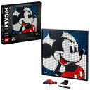 レゴ 【送料無料】LEGO Art Disney's Mickey Mouse 31202 Craft Building Kit; A Wall Decor Set for Adults Who Love Creative Hobbies, New 2021 (2,658 Pieces)レゴ