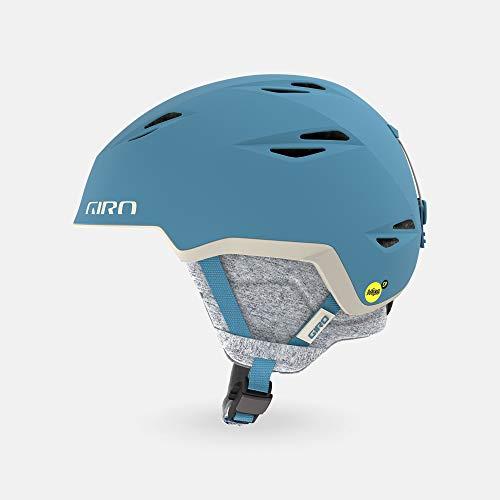 スキー・スノーボード用アクセサリー, ヘルメット  Giro Envi MIPS Spherical Womens Snow Helmet - Matte Powder Blue - Size M (55.5?5
