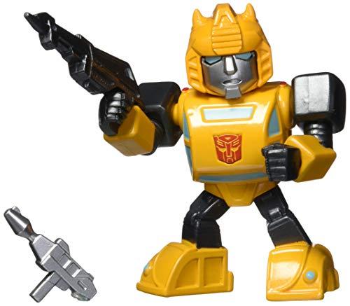乗り物のおもちゃ, その他  Transformers G1 Bumblebee Light-Up 4 Die-cast Metal Collectible Figure, Toys for Kids and Adults
