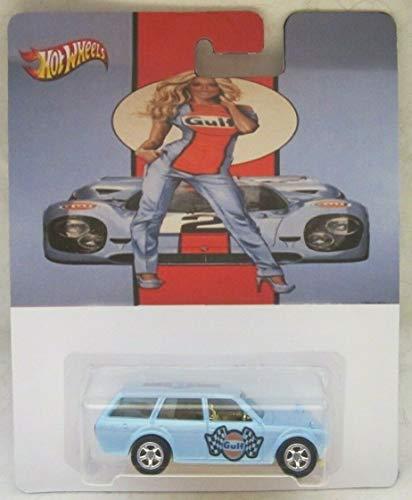 乗り物のおもちゃ, その他  Hot Wheels Custom 71 Datsun 510 Wagon Gulf Racing Real Riders Rubber Wheels Collectible Die Cast Model Car Limited Edition!