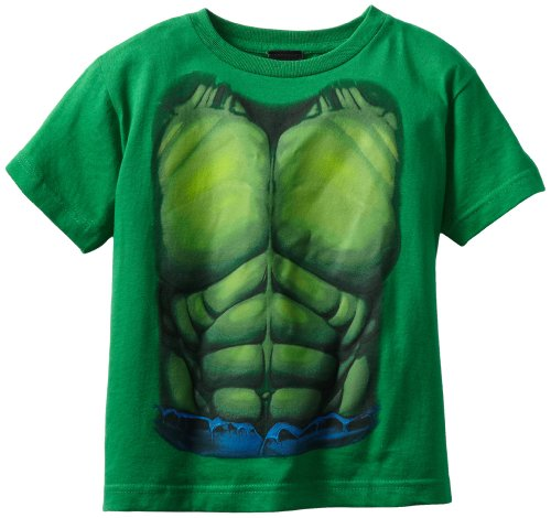 トップス, Tシャツ・カットソー T Marvel Boys Avengers Incredible Hulk Costume T-Shirt, LargeT