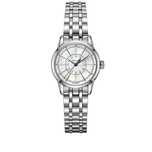 Hamilton Watch Ladies H40311191 Free Shipping H40311191 Hamilton Railroad Stainless Steel Braclet pearl Dial Lady Watch Hamilton Watch Ladies H40311191