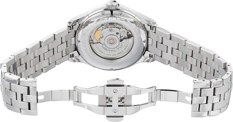ハミルトン 腕時計 メンズ H32515135 Hamilton Men's H32515135 Jazzmaster Viewmatic Black Guilloche Dial Watchハミルトン 腕時計 メンズ H32515135