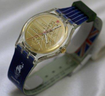 【当店1年保証】スウォッチSwatch Watches Olympic Sport Legends from the 1996 Olympic Games Limited Edition SEBASTIAN