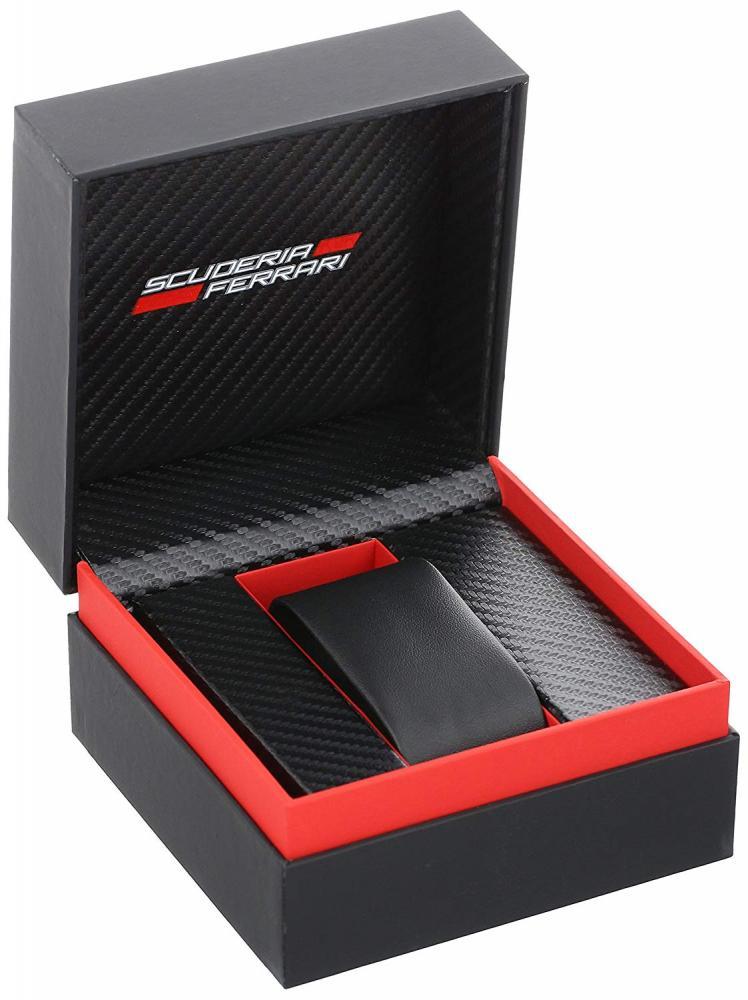 """フェラーリ 腕時計 メンズ 0830139 Ferrari Men's 0830139 """"Scuderia XX"""" Stainless Steel Watch with Black Silicone Strapフェラーリ 腕時計 メンズ 0830139"""