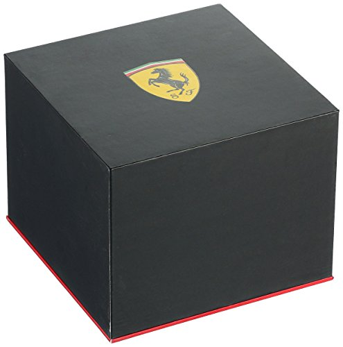 【当店1年保証】フェラーリFerrari 830286 Pit Crew Analog Display Quartz Black Watch