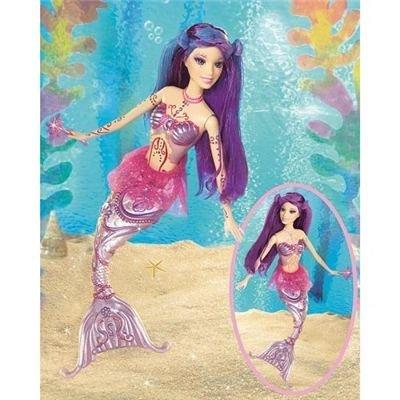 ぬいぐるみ・人形, 着せ替え人形  J0723 Merissa Doll Barbie Fairytopia Mermaidia J0723