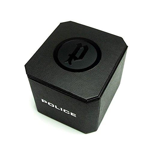 ポリス 腕時計 レディース 14191JSB/02 Police 14191JSB-02 Mens Fairplay Black Leather Strap Watchポリス 腕時計 レディース 14191JSB/02