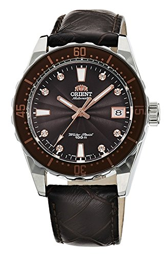 オリエント 腕時計 レディース AC0A005T ORIENT Automatic Sports 100M Superior Ladies Watch Brown Guilloche Dial FAC0A005Tオリエント 腕時計 レディース AC0A005T