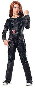 コスプレ衣装 コスチューム キャプテンアメリカ 620044_M 【送料無料】Rubies Marvel Comics Collection: Captain America: The Winter Soldier Deluxe Black Widow Costume, Child Mediumコスプレ衣装 コスチューム キャプテンアメリカ 620044_M