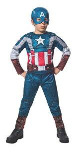 コスプレ衣装 コスチューム キャプテンアメリカ 620046_S 【送料無料】Rubies Marvel Comics Collection: Captain America: The Winter Soldier Fiber-Filled Retro Suit Captain America Costume, Child コスプレ衣装 コスチューム キャプテンアメリカ 620046_S