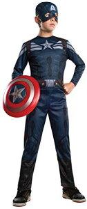 コスプレ衣装 コスチューム キャプテンアメリカ 885074_S 【送料無料】Rubies Captain America: The Winter Soldier Stealth Suit Costume, Child Smallコスプレ衣装 コスチューム キャプテンアメリカ 885074_S