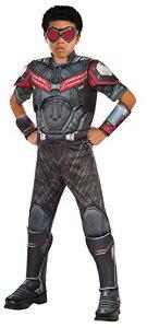 コスプレ衣装 コスチューム キャプテンアメリカ 620599_L Rubie's Costume Captain America: Civil War Falcon Deluxe Muscle Chest Child Costume, Largeコスプレ衣装 コスチューム キャプテンアメリカ 620599_L
