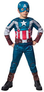 コスプレ衣装 コスチューム キャプテンアメリカ 620046_L 【送料無料】Rubies Marvel Comics Collection: Captain America: The Winter Soldier Fiber-Filled Retro Suit Captain America Costume, Child コスプレ衣装 コスチューム キャプテンアメリカ 620046_L