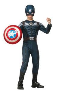 コスプレ衣装 コスチューム キャプテンアメリカ 885077_S 【送料無料】Rubies Captain America: The Winter Soldier Deluxe Stealth Suit Costume, Child Smallコスプレ衣装 コスチューム キャプテンアメリカ 885077_S