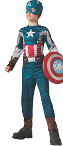 コスプレ衣装 コスチューム キャプテンアメリカ 885075_L 【送料無料】Rubies Captain America: The Winter Soldier Retro-Style Costume, Child Largeコスプレ衣装 コスチューム キャプテンアメリカ 885075_L