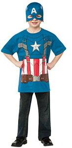コスプレ衣装 コスチューム キャプテンアメリカ 620007_S 【送料無料】Rubies Captain America: The Winter Soldier Retro Style Costume Top and Mask, Child Smallコスプレ衣装 コスチューム キャプテンアメリカ 620007_S