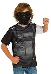 コスプレ衣装 コスチューム キャプテンアメリカ 620722_M Rubie's Costume Captain America: Civil War Winter Soldier Child Top and Mask, Mediumコスプレ衣装 コスチューム キャプテンアメリカ 620722_M