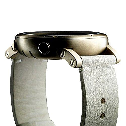 スント 腕時計 アウトドア メンズ SS021214000 Suunto Mens Essential Gold Digital Display Quartz Watch, Ivory Leather Band, Round 49.1mm Caseスント 腕時計 アウトドア メンズ SS021214000