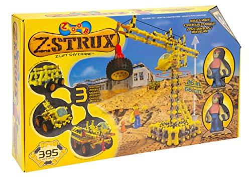 知育玩具・学習玩具, 知育パズル  0Z15050TL ZOOB Z-Strux Lift Sky Crane 0Z15050TL