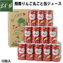 【JA相馬 飛馬りんごまるごと缶ジュース 195g×30缶】送料込み・産地直送 青森