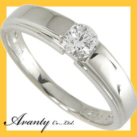 【Avanty】Dカラー:0.2ctUp:SI2Up:GOODUpPt900ダイヤプラチナリング/中央宝石研究所鑑定書付