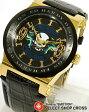 【お取寄せ】 エドハーディー ad-gd ADMIRAL Ed-Hardy レディース 腕時計 ブラック 黒×ゴールド 【女性用腕時計 リストウォッチ ランキング ブランド かわいい カラフル】
