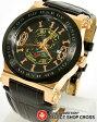 【お取寄せ】 エドハーディー ad-rg ADMIRAL Ed-Hardy レディース 腕時計 ブラウン×ブラック 黒×ゴールド 【女性用腕時計 リストウォッチ ランキング ブランド かわいい カラフル】