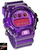 カシオ CASIO G-SHOCK Gショック ジーショック 腕時計 メンズ Crazy Colors クレイジーカラーズ DW-6900CC-6DR パープル 【男性用腕時計 スポーツ アウトドア リストウォッチ ランキング ブランド 防水 カラフル】