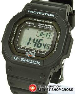 ★レビューを書いて送料無料★Gショック 電波ソーラー腕時計!! GW5600J-1 G-SHOCK 電波時計 タ...