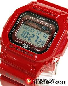 カシオ Gショック G-LIDE GLX-5600-4 Gライド 赤カシオ CASIO G-SHOCK Gショック ジーショック ...