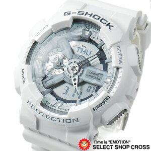 CASIOカシオG-SHOCKGショックメンズ腕時計海外モデルGA-110C-7ADRホワイト
