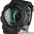 Gショック カシオ G-SHOCK CASIO メンズ 腕時計 アナログ GA-100C-1A3DR ブラック 海外モデル 【あす楽】