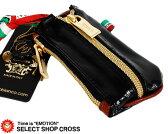 オロビアンコ Orobianco キーケース&コインケース portale-7027601 PVCブラック/ゴールドファスナー D-LT1207 【あす楽】