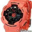 ベビーG カシオ Baby-G CASIO レディース 腕時計 アナログ BA-111-4A2DR レッド系 海外モデル
