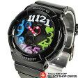 カシオ CASIO ベビーG Baby-G レディース 腕時計 イルミネーター BGA-131-1B2DR ブラック 海外モデル