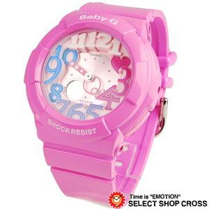 Baby-GCASIOカシオベビーGレディース腕時計アナデジBGA-131-4B3DRピンク海外モデル