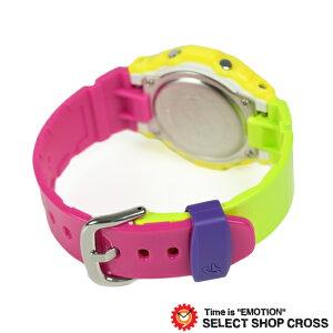 BABY-GCASIOカシオベビーGレディース腕時計イエロー×ピンク×グリーン×ブルーカラフルBG-5607-9DR海外モデル