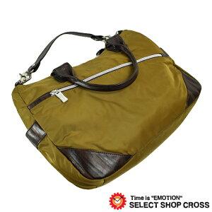 オロビアンコOrobianco3WAYビジカジトートバッグストラップ付SILVOFFICE-Cゴールド/ダークブラウンレザー7025858正規品